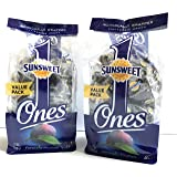 Prunes Pitted Individually Wrapped Sunsweet Individual Pitted Prunes Value Pack - 2 Packs (12 oz each) of Individually Wrappe
