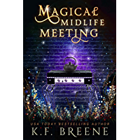 Magical Midlife Meeting: A Paranormal Women's Fiction Novel (Leveling Up Book 5) (English Edition)