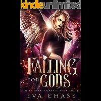Falling for Gods: A Reverse Harem Urban Fantasy (Their Dark Valkyrie Book 3)