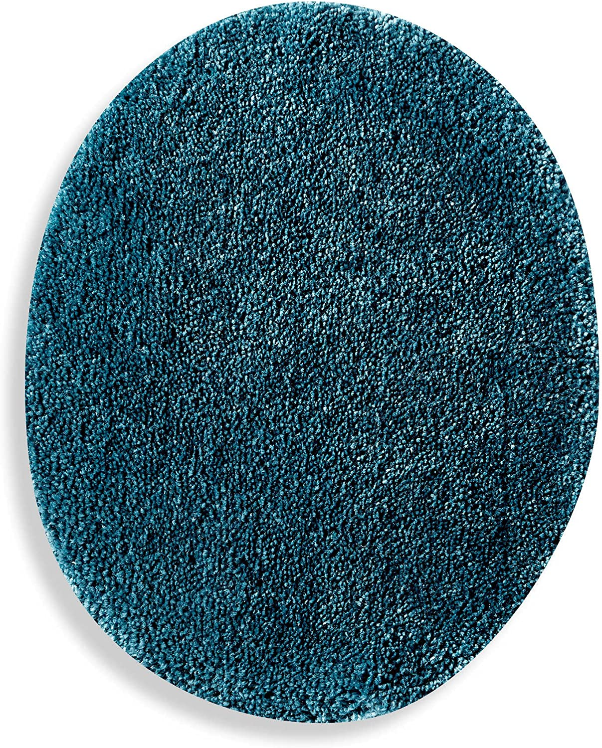 Wamsutta Duet Elongated Toilet Lid Cover in New Blue