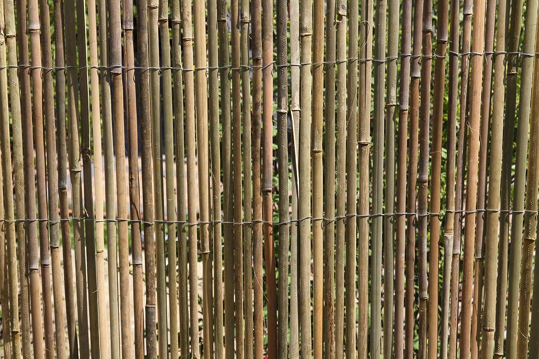 Amazon De 3m X 1 5m Bambusmatte Bambus Sichtschutzmatte Zaun