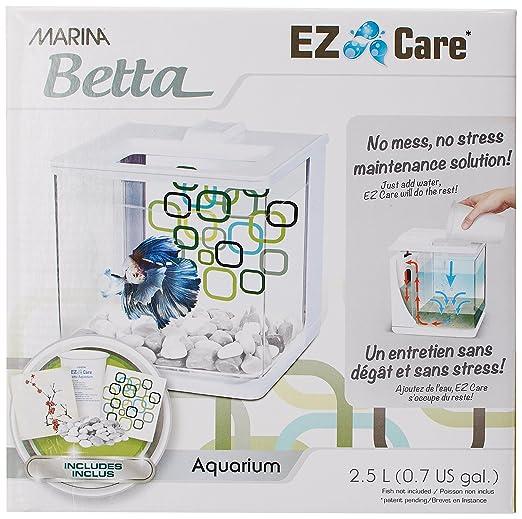 Marina Bettera Ez Care 2.5 L, Color Blanco: Amazon.es: Productos para mascotas