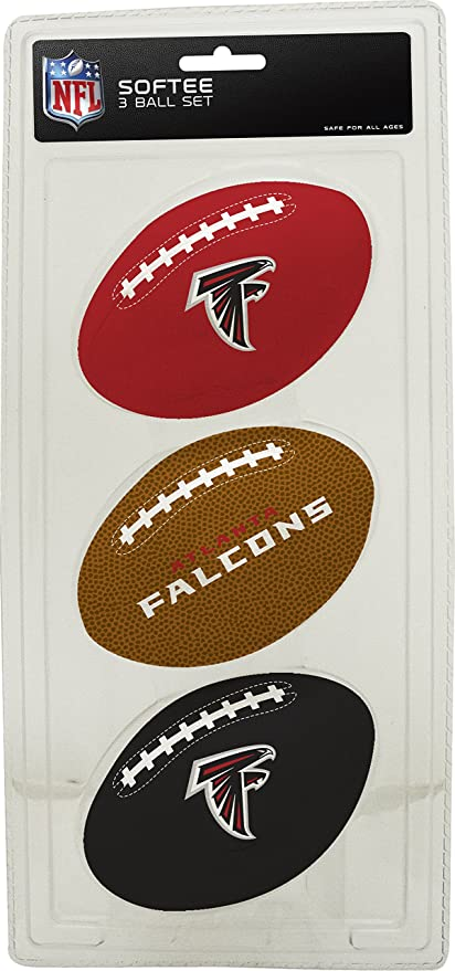 db6f4501e11 Amazon.com   NFL Atlanta Falcons Kids Softee Football (Set of 3 ...