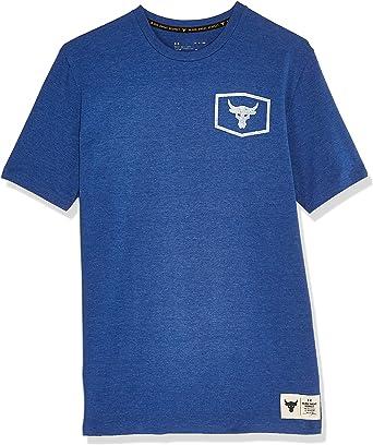 Men/'s Under Armour X Project Rock Iron Paradise Short Sleeve T Shirt Choose Size