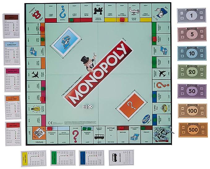 Amazon.com: Hasbro Gaming C1009231 Monopoly Classic: Toys ...