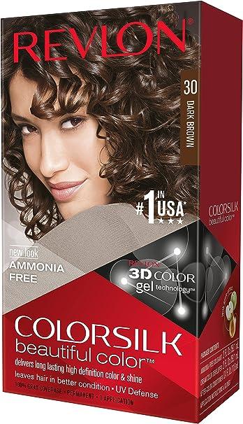 Revlon Colorsilk 7215563030 - Tinte capilar, tono castaño oscuro