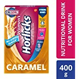 Women's Horlicks Health and Nutrition drink - 400 g Refill pack (Caramel flavor)
