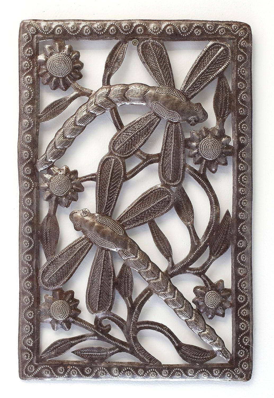 Haitian Metal Art Dragonfly