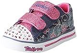 Skechers Kids Girls' Sparkle Glitz-Denim Daisy
