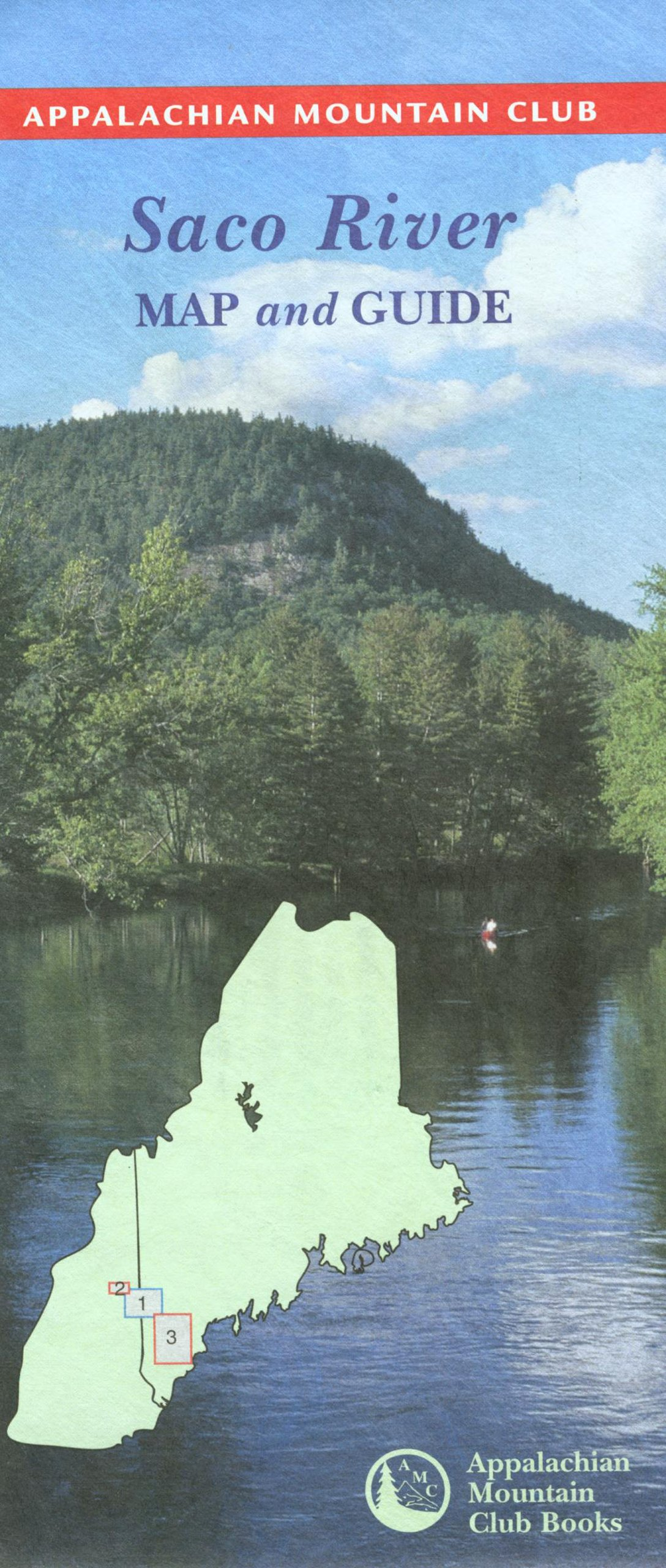 Read Online Saco River Map and Guide: Amc River Map pdf epub