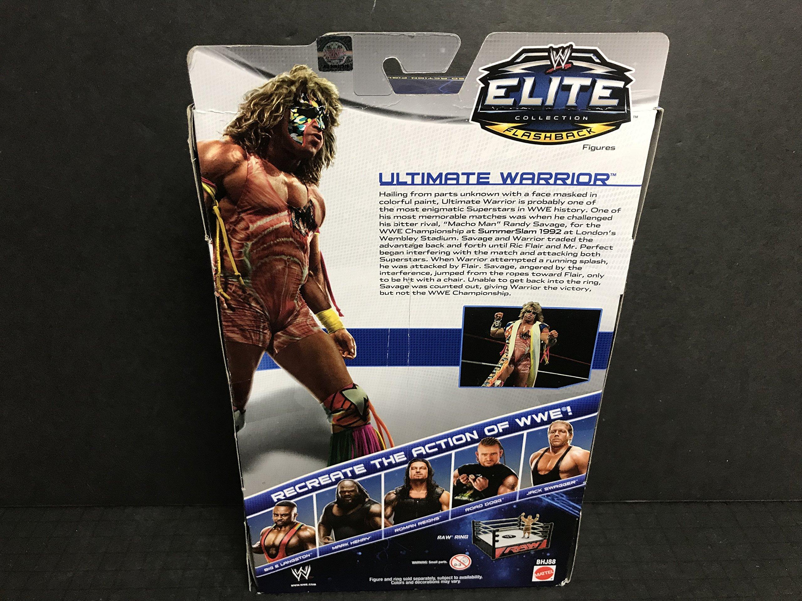 Ultimate Warrior 2013 Mattel WWE ELITE FLASHBACK action figure series 26