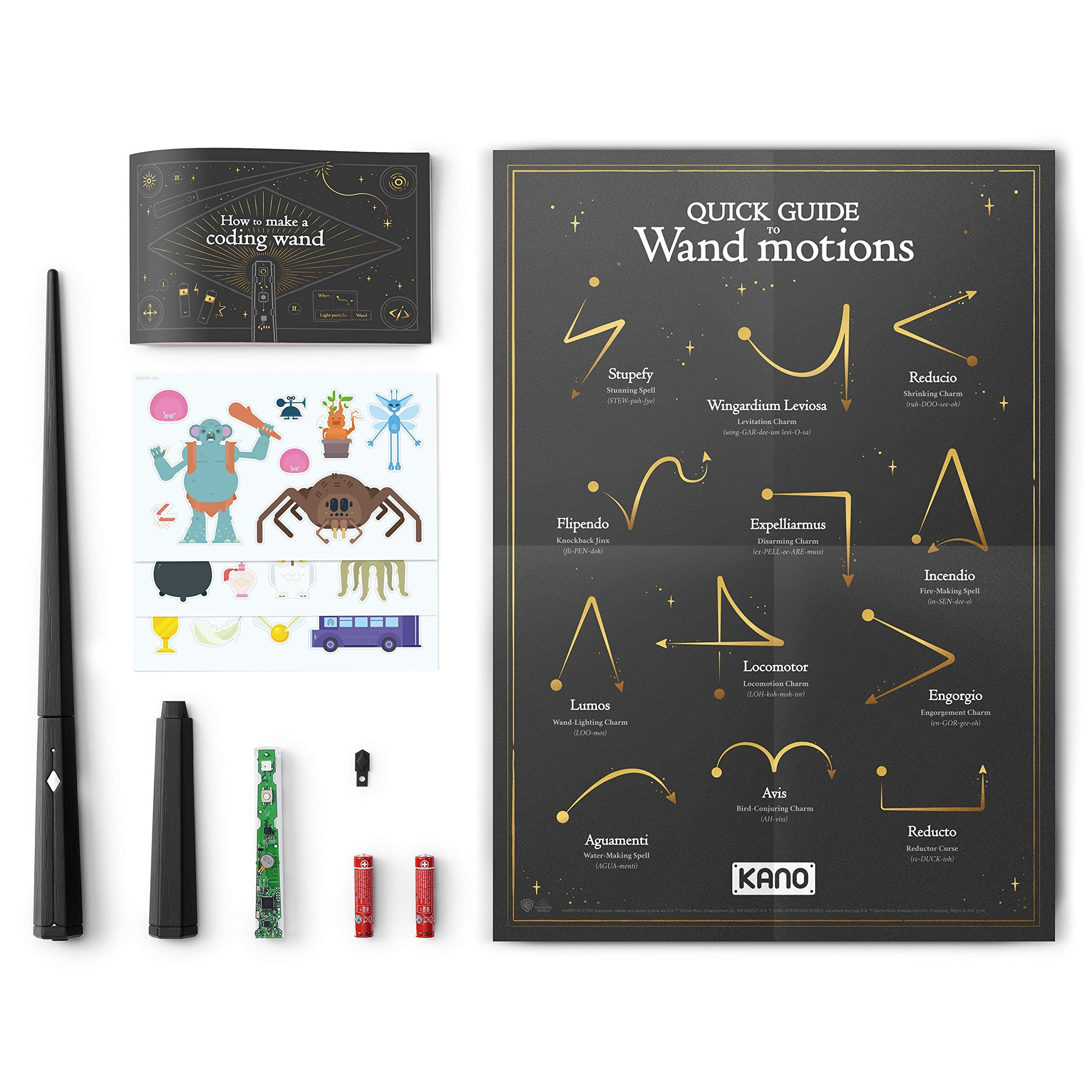 Kano Harry Potter Coding Kit - Build a Wand. Learn To Code. Make Magic. (Renewed) by Kano (Image #7)