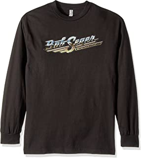 5e10274c51 FEA Merchandising Men's Bob Seger and The Silver Bullet Band Short Sleeve  T-Shirt