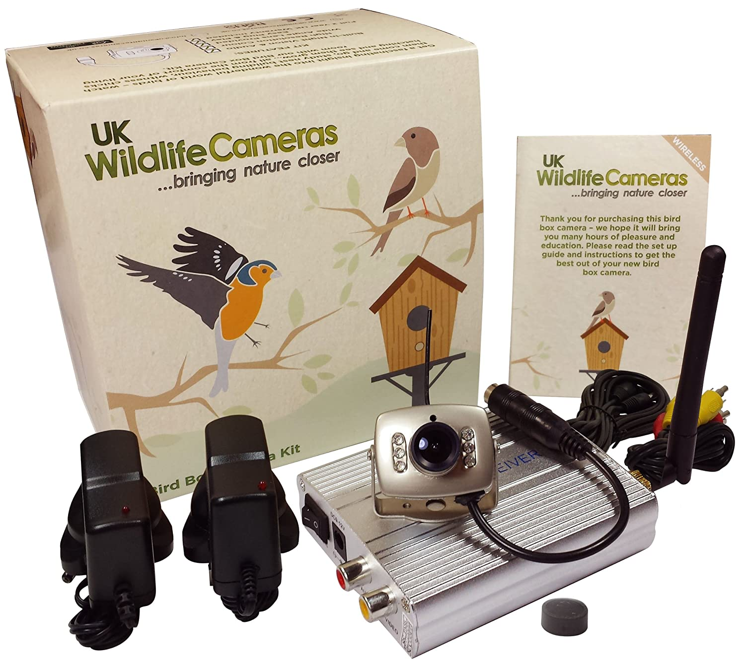 Wireless Bird Box Camera Kit - Colour with Night Vision (QR-693) Amazon.co.uk Garden u0026 Outdoors  sc 1 st  Amazon UK & Wireless Bird Box Camera Kit - Colour with Night Vision (QR-693 ... Aboutintivar.Com