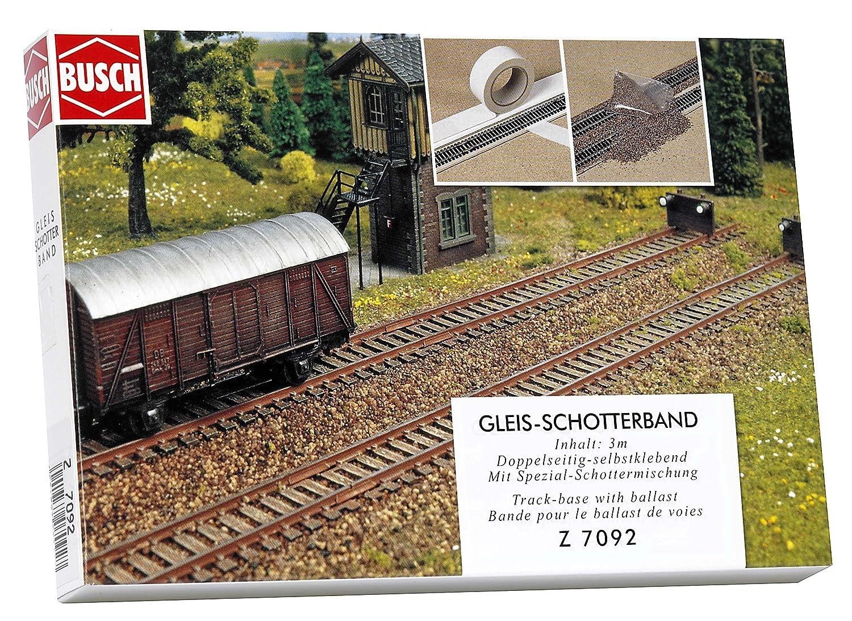 Busch 7092 - Gleisschotterband  Z Modelleisenbahn / Gleisbettung Modelleisenbahn / Landschaftsbau Modelleisenbahn / Streumaterial