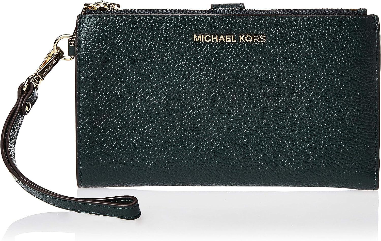MICHAEL Michael Kors Double Zip Wristlet Dark Atlantic One Size
