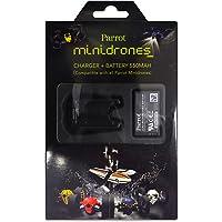 Parrot Pack Chargeur + Batterie supplémentaire pour MiniDrone Rolling Spider et Jumping Sumo