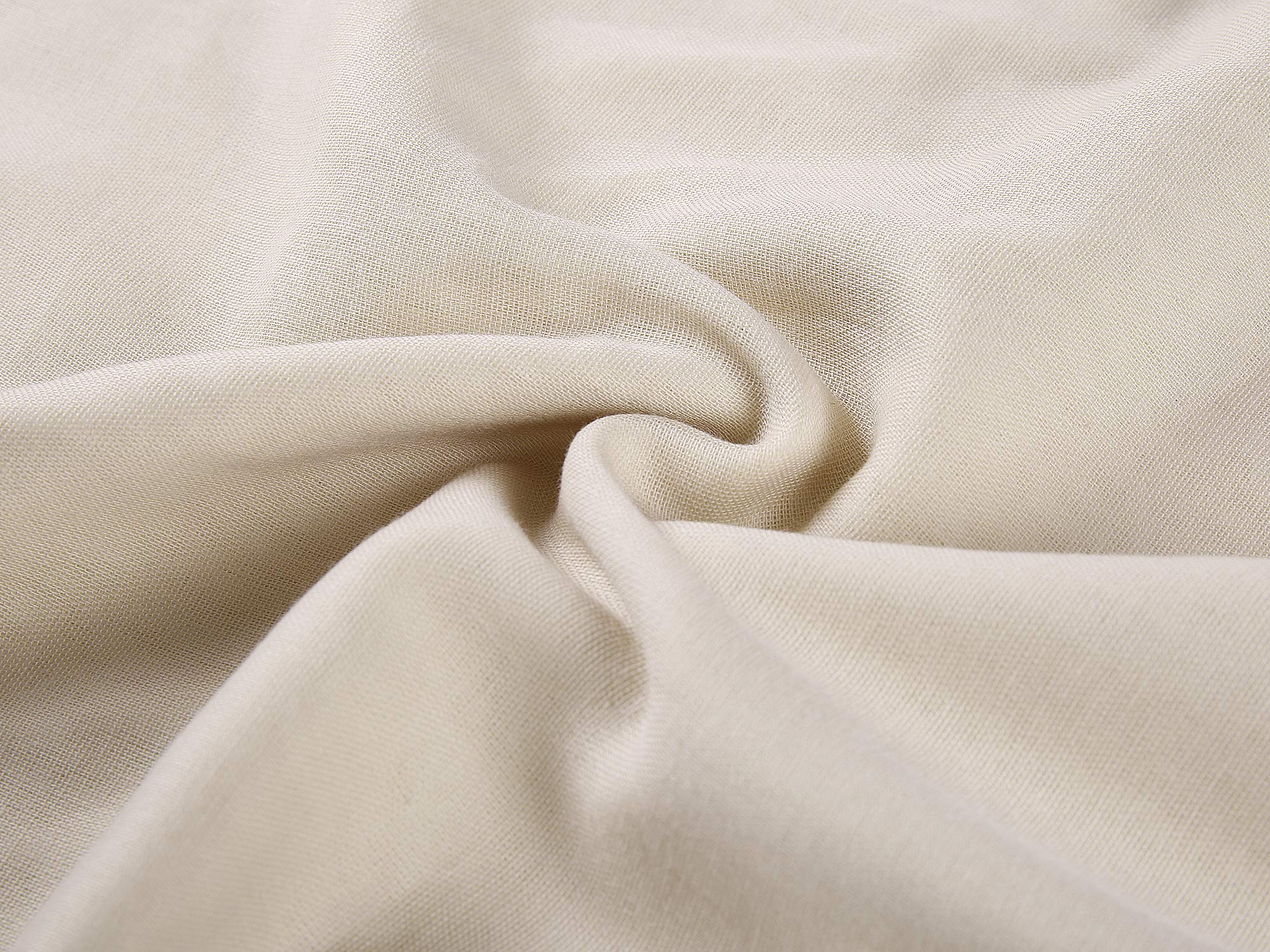 GYS Ultra Soft and Lightweight 100% Organic Cotton Hospital/Home Blanket (Twin Size, 30 Ounce, 58.3''x82.7''), Summer Quilt with 5 Layers of Organic Cotton, Flaxen by GYS (Image #5)