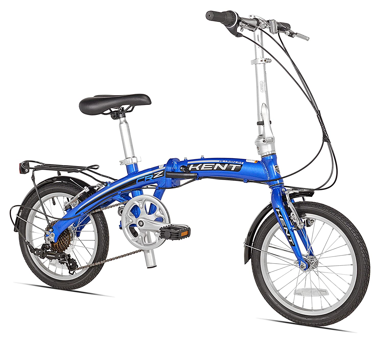 Kent Aluminm 7-Speed Folding Bike 16-Inch
