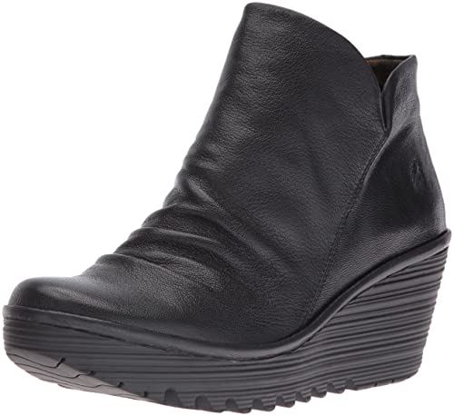 FLY London Yip, Botines para Mujer, Negro (Black 017), 35 EU: Amazon.es: Zapatos y complementos