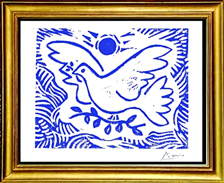 Signed Dove Numbered Print a linocut print Edition of 36