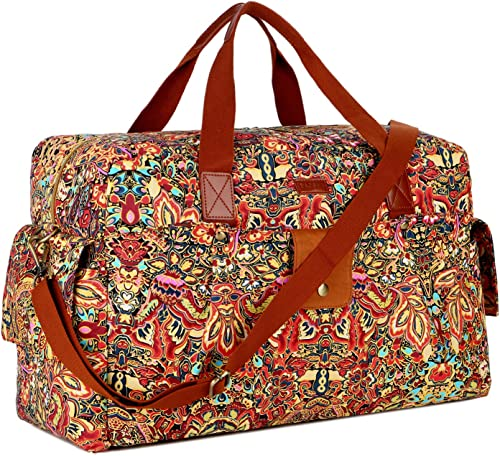 BAOSHA HB-31 Women Travel Duffel Bag Carry on Weekender Overnight Bag Colour