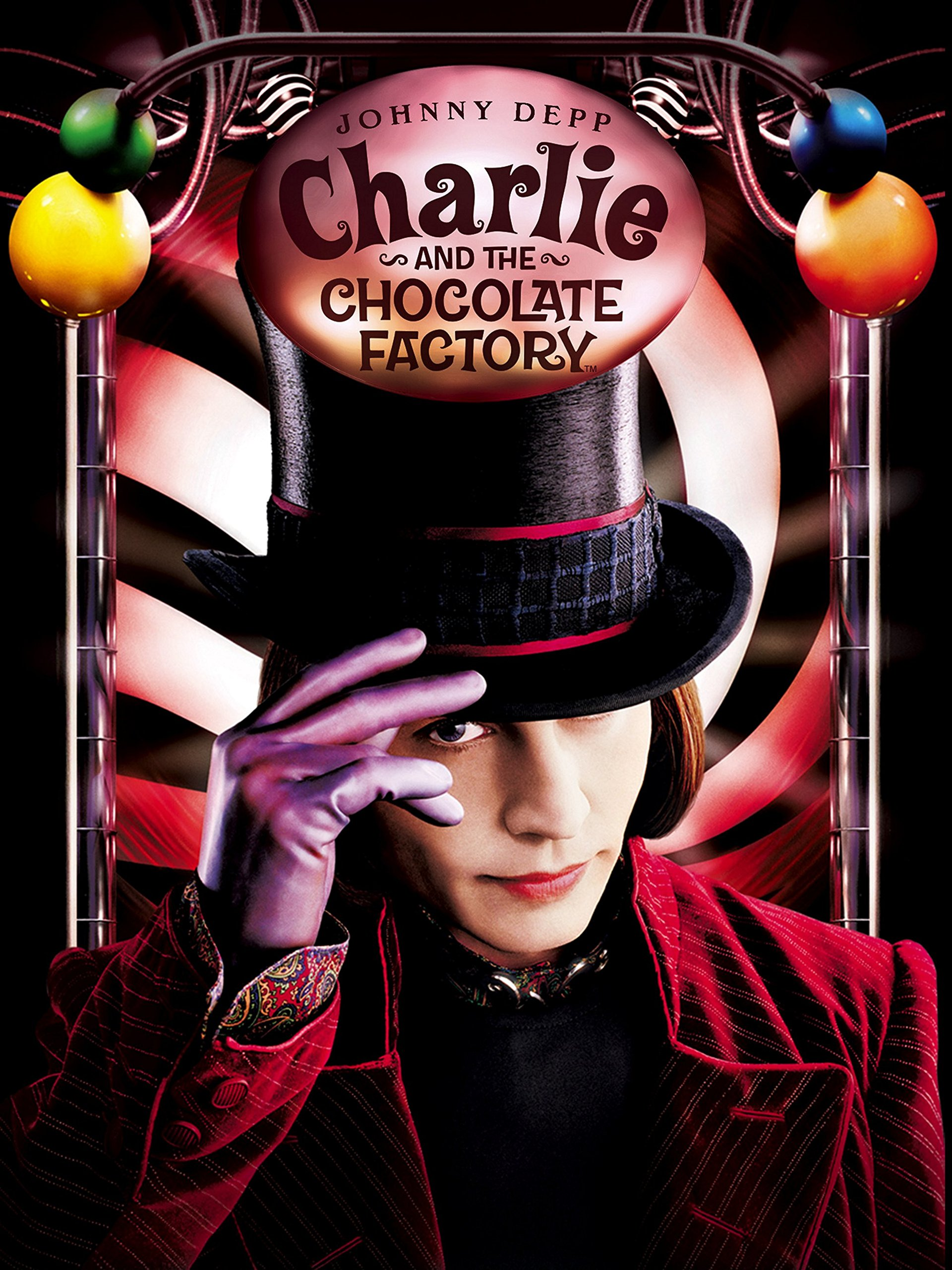 Amazon.com: Charlie and the Chocolate Factory: Johnny Depp ...