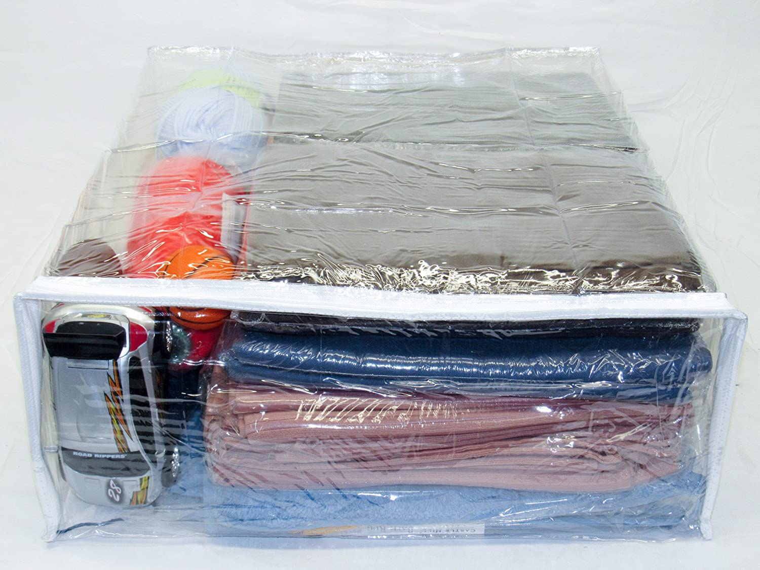 15.9 Gallon Bedding Sets 5-Pack Heavy Duty Vinyl Zippered Storage Bags Comforters Clear 20 x 23 x 8 Oreh Homewares X-Large Blankets for Sweaters