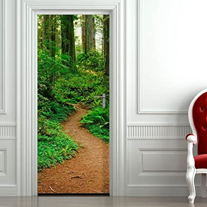 image about Printable Door Decorations named : Tailor made Doorway Decal Print / Customized Doorway