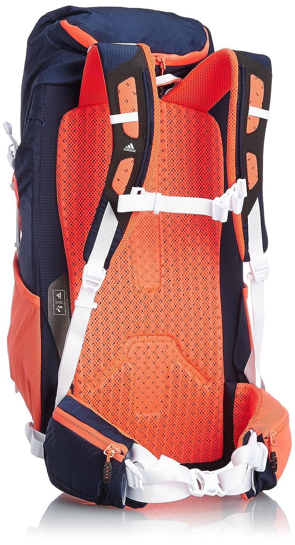 arrives super cheap on feet shots of adidas Terrex 35 Backpack Solar Collegiate Navy/Red, 35 x 28 x 22 CM 35  Litre S27089
