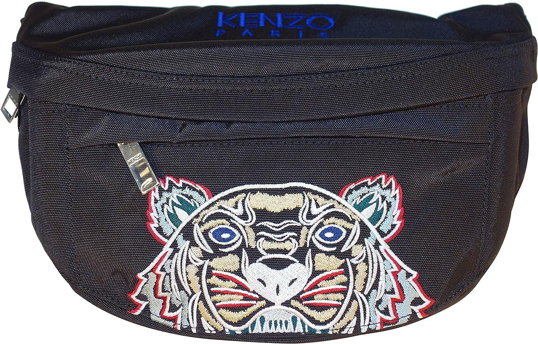9cc8971892 KENZO BAG CROSS BODY/BUM BAG TIGER LOGO 5SF305 F20 (BLACK): Amazon.co.uk:  Shoes & Bags