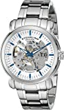 Stuhrling Original Legacy Delphi Antium Men's Automatic Watch with Silver Dial Analogue Display and Silver Stainless Steel Bracelet 387.33112