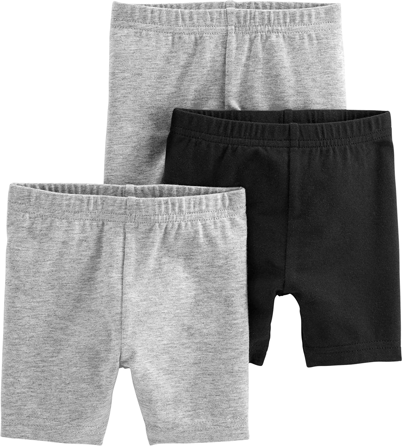 Simple Joys by Carter's Baby and Toddler Girls' 3-Pack Bike Shorts