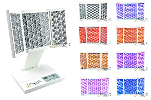 Project E Beauty Mini Foldable PDT LED 7 Color Photon Therapy