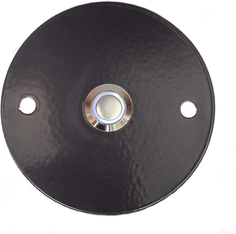 tronicxl placa de timbre timbre de acero inoxidable Placa antracita puerta timbre