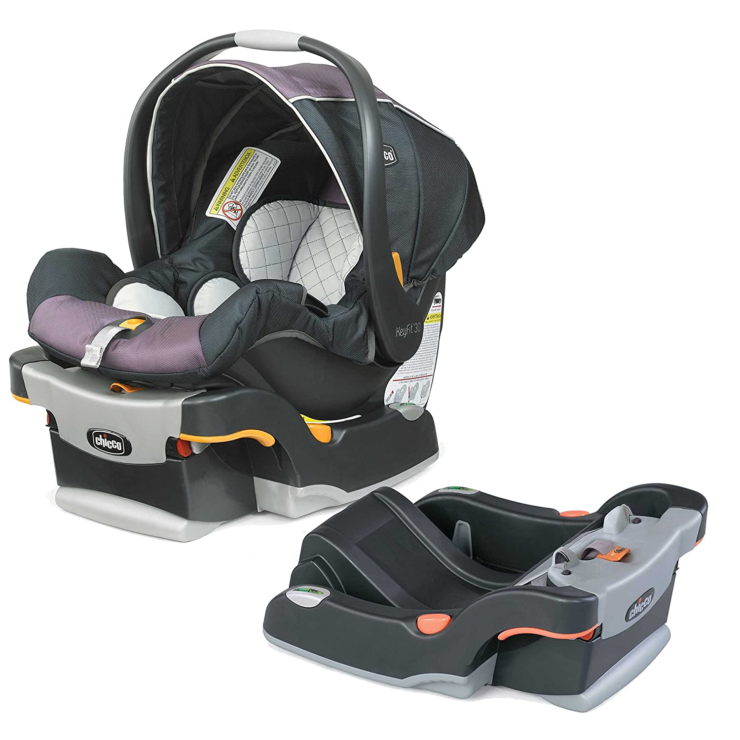 Asiento de coche Chicco KeyFit 30 Infant/Base con base extra para ...