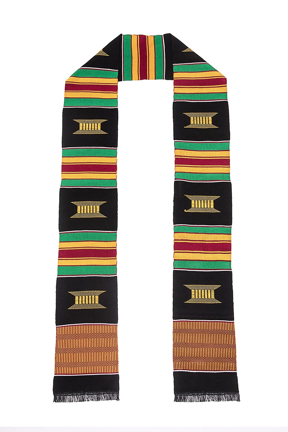 Traditional Kente Cloth Graduation Stole …