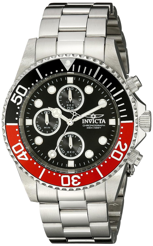 Amazon.com: Invicta Men's 1770 Pro Diver Collection Chronograph Watch:  Invicta: Watches