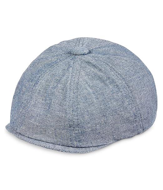 9d5a1149857 Sean John Mens Solid Newsboy Hat Navy L Xl  Amazon.ca  Clothing ...