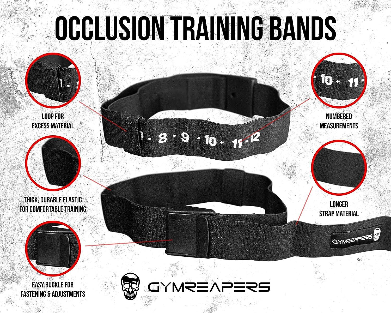 Details about  /2pcs Training Arm Bands Elastic Workout Leg Straps Blood Flow Restriction Belts
