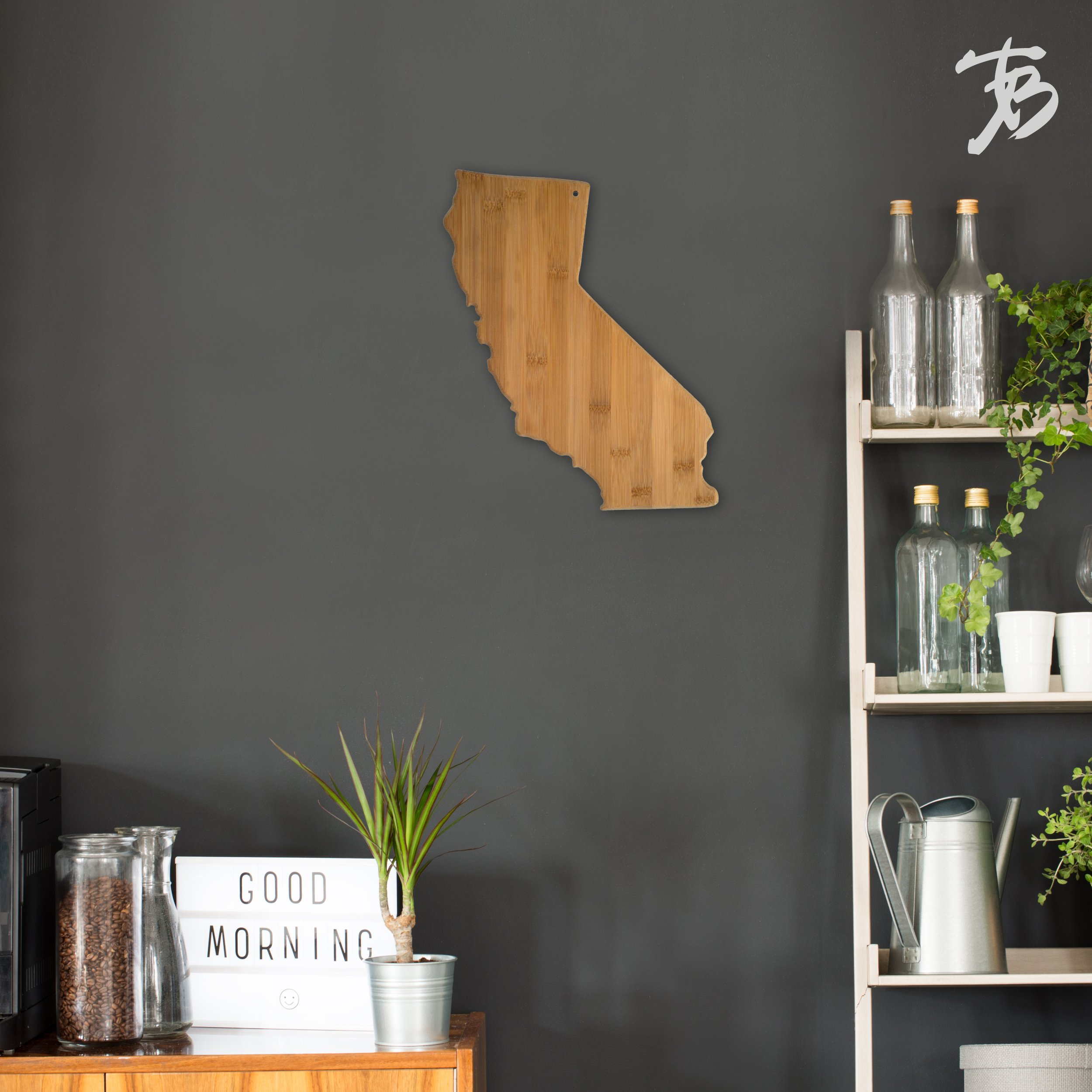 Totally Bamboo California State Shaped Bamboo Serving and Cutting Board by Totally Bamboo (Image #4)