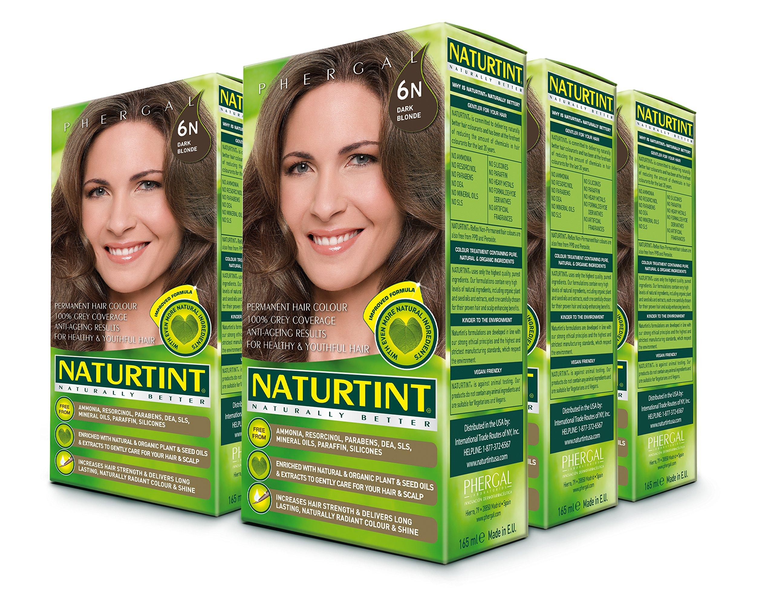 Amazon.com : Permanent Hair Color - 5N, Light Chestnut Brown, 5.28 ...