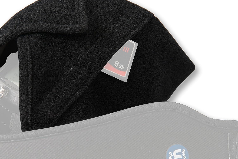 38,1/cm protettivo camera Wrap per coprire le DSLR da Indigo marmo Ora con tasca esterna /imbottito e leggero fornire Quick Fit usando cinghie o cinghie Isolano delicate apparecchiature elettroniche/