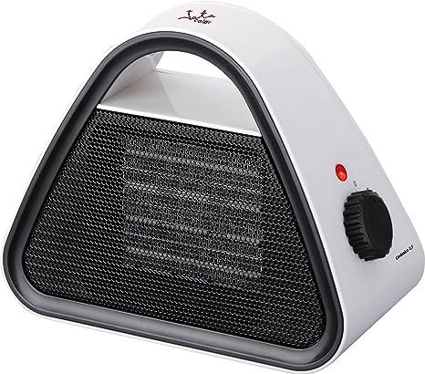Jata TC85 Calefactor cerámico PTC, silencioso, 1500 W, 0 Decibeles, Blanco con