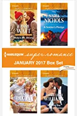 Harlequin Superromance January 2017 Box Set: Molly's Mr. Wrong\The Other Twin\A Soldier's Pledge\Wooing the Wedding Planner Kindle Edition