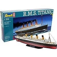 Revell- RMS Maqueta R.M.S. Titanic, Kit Modello, Escala
