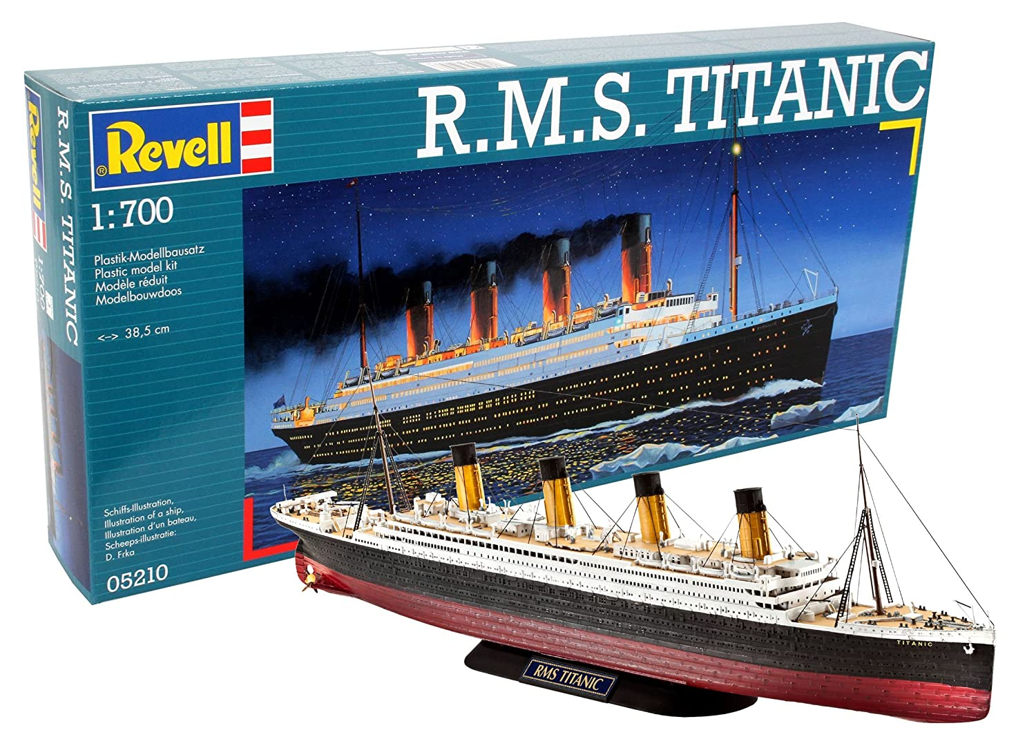 Revell 05210 38.5 cm R.M.S. Titanic Model Kit 80-5210