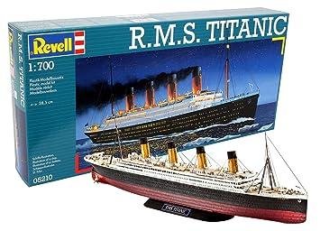 Revell- RMS Maqueta RMS Titanic, Kit Modello, Escala 1:700 (5210) (05210)