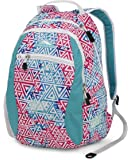 High Sierra Curve Backpack, Galaxy Tribe/Tropic Teal/White