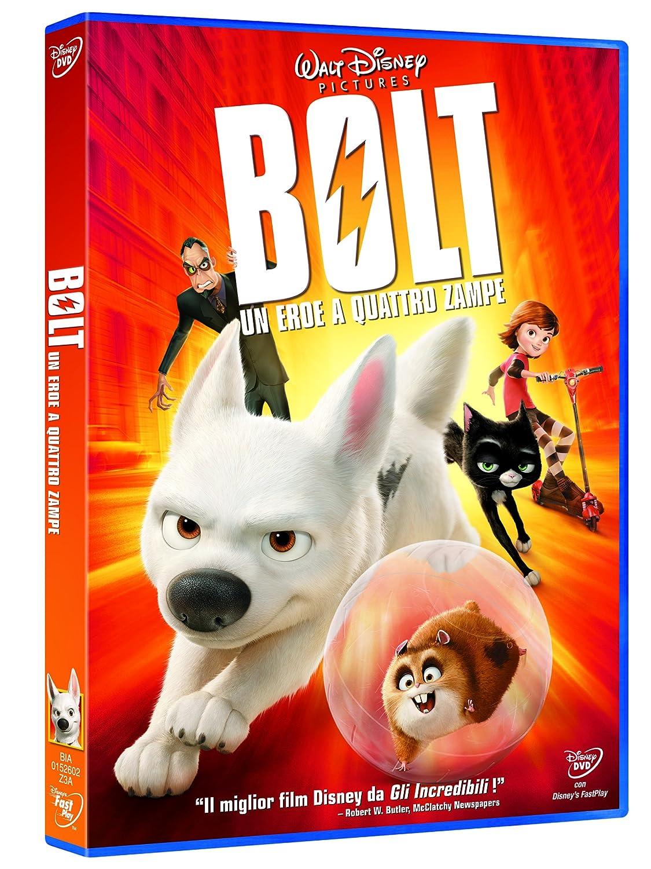 Bolt Un Eroe A Quattro Zampe Amazon It Vari Film E Tv